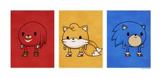 Sonic the Hedgehog illustrations