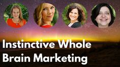 Join Cara Wilde Cathy Ballard Holly Worton and Joanna Hennon as we discuss our concept of Instinctive Whole Brain Marketing.   What you'll learn:   Why we think old school marketing is over  Why we need an alternative  What a new marketing paradigm might look like  What we think it doesn't look like   What this period of transition feels like and why it's okay to wobble  Connect with us:    http://carawilde.com  http://cathyballard.com  http://joannahennon.com  If you'd like to continue with…