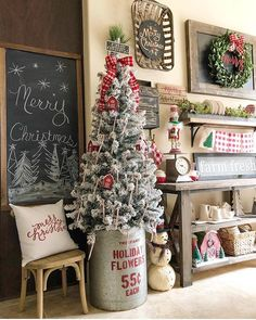 SALE IS ENDING! RED + WHITE = Prepare to begin zooming in! There is so much HO-HO-HOLIDAY to admire in this shot by Bethany @blessedonbluefinch ! She sure does know how to bring a happy holiday feel to a space! Find so many of these deets in our Top Sellers and Farmhouse Collections! It's the final stretch for our SEASON OF SAVINGS STOREWIDE MARKDOWNS AND AN ADDITIONAL 15% OFF WITH CODE: MERRY! ...and shipping is always free! DON'T MISS OUT! PaintedFoxHome.com