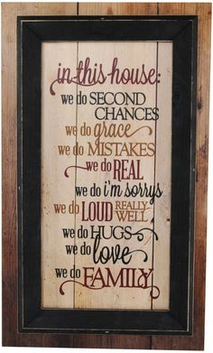 Love these family rules. #ad