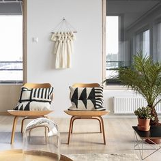 Home decor inspiration, wood chairs, home design decor, house design, wool wall Eames Plywood Lounge Chair, Decor, Home And Living, Living Room Modern, Modern Room, Interior Design, Home Decor, House Interior, Home Deco