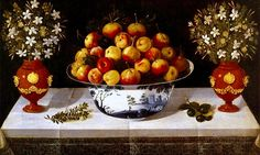 Still Life With Fruit and Flowers – Tachos e Porcelanas