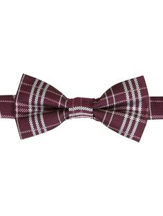 Banded dickie bow