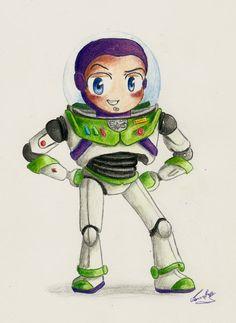 Buzz Lightyear by Joanne Raptis [©2011]