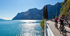 Curiosity> eco friendly sportsmen can visit Lake Garda riding an e-mtbike! In San Zeno in Montagna the first rental of electric bicycles with pedal assistance has openend. They are ideal for each path of the Lake, from the floors to the most tortuous one! Happy cycling!