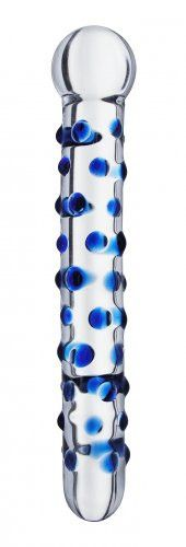 Bindu Glass Dildo - Blue - Entrance your lover with this deviously devine piece of pleasure art. The Bindu Thrusting Wand is a decidedly pleasurable glass wand with sleek and direct lines that lend themselves effortlessly to pinpoint stimulation. Pleasure Point, Glass Toys, Blue Accents, Dildo, Wind Chimes, Cool Stuff, Purple, Beautiful, Jewelry