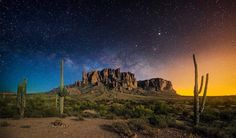 Milkyway rising over the Superstition Mountains.No fabrication..,we'll explore the legends and stories behind the tales of the Superstition Mountains. https://www.youtube.com/channel/UCL_BC_CdxsiQ3XJyDDPF6NA