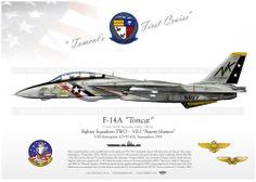 """F-14A """"Tomcat"""" VF-2 """"Bounty Hunters"""" TC-13"""
