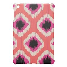 Tangerine Ikat - by TDStudio Cover For The iPad Mini