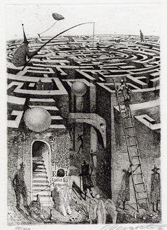 Labyrinth Maze:  #Maze, Oleg Dergatchov.