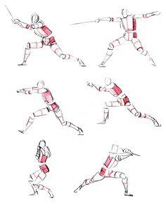 查看《画画的春哥:日常除草之舞剑人体结构动态》原图,原图尺寸:600x755 Wings Drawing, Gesture Drawing, Drawing Poses, Drawing Tips, Drawing Tutorials, Human Figure Drawing, Figure Sketching, Life Drawing, Figure Drawing Reference