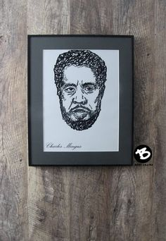 Charles Mingus  JAZZ POSTER  Each print is numbered and singned on the back by me, BART aka Ba, the artist of the original illustration.  This art print is the perfect gift for friends and family who are fans of jazz music.  Size: 11,7 x 16,5 in (29,7 x 42cm) A3  In. my work I use only the best materials:  - Matt paper with a weight of 250g/m2 (115lb) - Professional paints  This unique piece of art will come carefully packaged by me. All orders are shipped by tube.  Delivery time its abo...