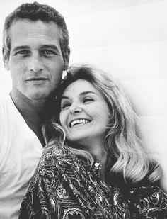 """""""Some men I know welcome a chance to get away from home and fireside during the day but not me. Joanne is more fun to be with than anyone I know, besides she is my favorite actress and working with her is challenge and that is fun."""" - Paul Newman"""