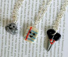 Best friend necklace for 3