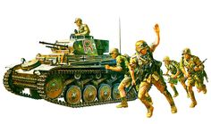 Panzer II Tamiya box art