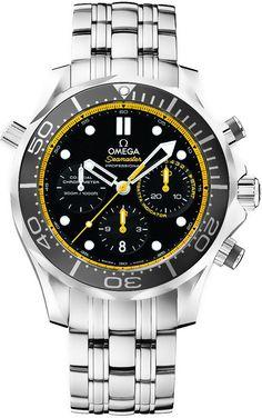Omega Seamaster 300m Diver Co-Axial Chronograph 212.30.44.50.01.002