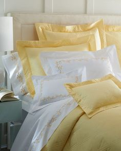 """Guesthouse Collection"" Bed Linens at Horchow."
