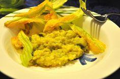 Risotto allo Zafferano Bimby con Zucchine