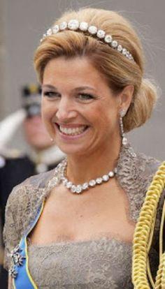 Princess tiaras - maxima wearing a tiara.jpg