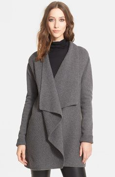 Lanvin Rib Knit Cashmere Cardigan Jacket available at #Nordstrom