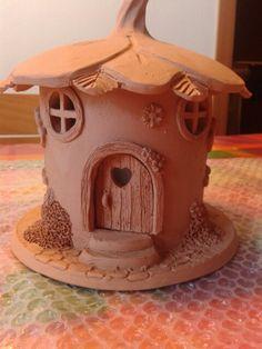Fairy house in terracotta.....