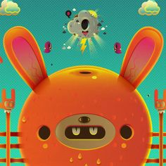 Vector Character by jonathan ball   Found on Daily Inspiration's Wall of Fame