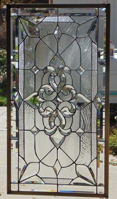 "Stained Glass Window Hanging 34 1/2 X 18 5/8"" | eBay"