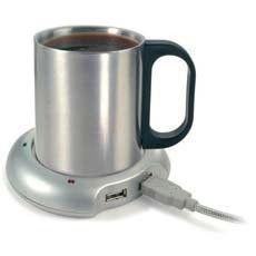 USB-kopvarmer - Aldrig mere kold kaffe eller te ved computeren!