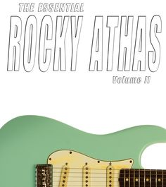 The Essential Rocky Athas - Volume II from 14.99 Physical CD sent in the mail with exclusive alternate cover art card with comprehensive list of Rocky's guitars used on each classic recording. Album includes performances by Rocky with Larry Samford and Walter Watson and NEVER before released version of Mountain's Mississippi Queen that influenced Rocky's style. Released in 2015 on CherryBurst Records.  #RockyAthas