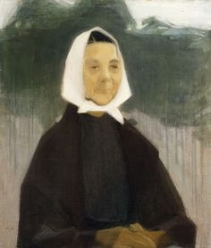 Old Woman, 1907 ,by Helene Schjerfbeck