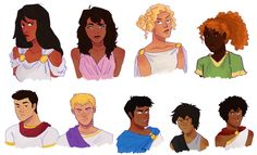 they're all probably making these faces bc octavian is breathing their air | art by hahahaidadraws
