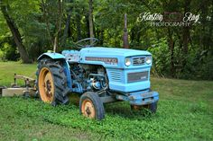 #tractor #ArtForSale #BlueTractor #Hinomoto #farm #FarmLife #FarmQuipment #CountryLife #Etsy #photography #WallArt #HomeDecor ©Kirsten Ray Photography