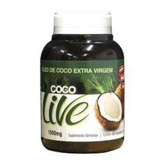Óleo de Coco 1g 60 Cápsulas Copra