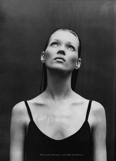 Early Kate Moss by Patrick Demarchelier. I Kate Moss! Mario Sorrenti, Patrick Demarchelier, Kate Moss, Richard Avedon, Body Of Evidence, Portrait Photography, Fashion Photography, Celebrity Photography, People Photography