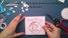How to make a shaker card { Lawn Fawn }