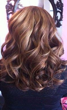 Big beautiful curly hairstyles