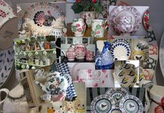 Perfect Emma Bridgewater pastiche! Thanks, Little Welsh Quilts and other Traditions.