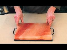 How to care for your Himalayan salt plate - YouTube