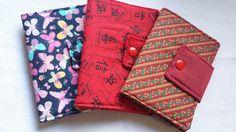 Porta Documentos com porta cartões e dois bolsos internos. Consulte nosso  mostruário de tecidos 10cm x 14cm (fechado) www.elo7.com.br artesanapires d6fe156f50