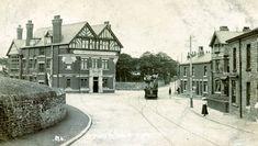 Doddcocker Inn and tram terminus