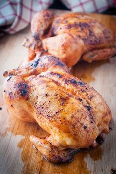 Portuguese-Style Roast Chicken. We sometimes order Portuguese style chicken from local restaurants. Our recipe tastes similar & it's so easy to make at home! Tender, juicy and flavourful!
