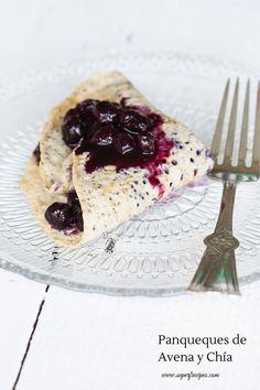 Chia and Oats Crepes Brunch Recipes, Pancakes, Recipies, Deserts, Goodies, Low Carb, Breakfast, Ethnic Recipes, Drinks