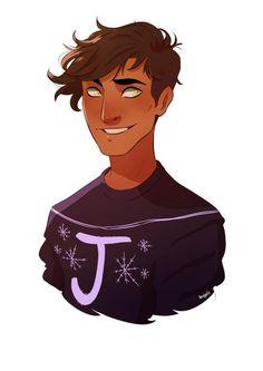 Джеймс Поттер тоже принарядился в рождественский свитер от бабушки Молли, автор alexcopeman.