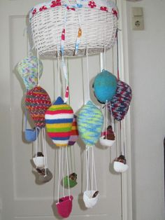 Gehaakte luchtballonnen, traktatie