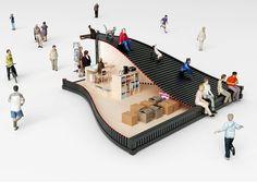 Galeria de NL Architects explora um novo modo de utilizar contêineres em Seul - 15