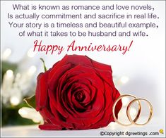 Wish the beautiful couple with these anniversary quotes.