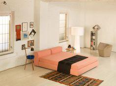 CAPPELLINI Novelties 2012 - Superoblong bed, Sofalamp, Garment armchair, Drop bookshelf