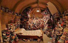 V for vendetta library - Bing Images Love Bookshelf, Bookshelves, Stack Of Books, I Love Books, V Pour Vendetta, Bric À Brac, Bomb Shelter, Book Images, Book Nooks
