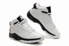 Air Jordan New School Shoes White Black Grey $95.99