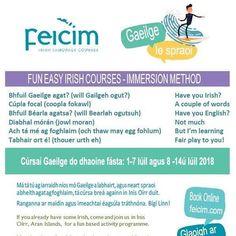 Irish courses for Adults Irish Language, School Notes, Words, School Grades, Irish